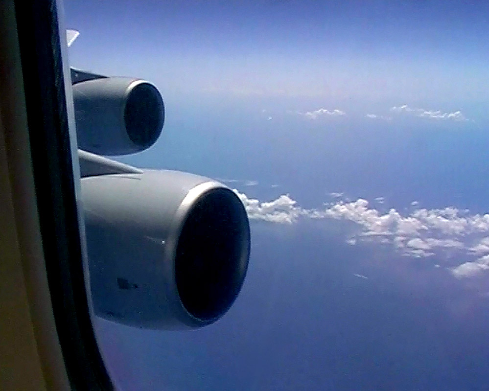 Boeing 747 - Anreise Turks & Caicos