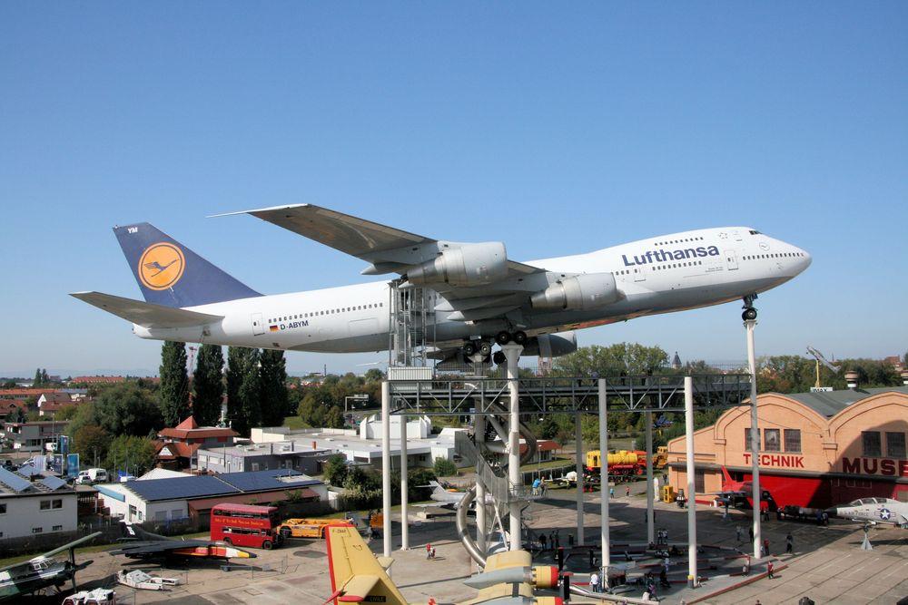 Boeing 747 im Museum