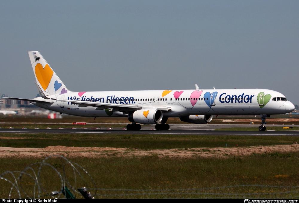 Boeing 757-330/W Condor