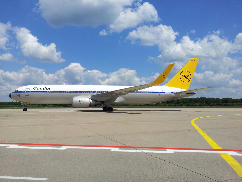 Boeing 767 von der Condor