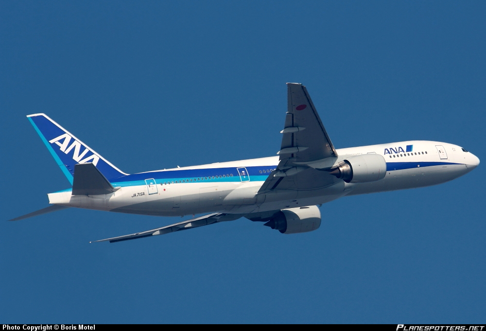 Boeing 777-281ER All Nippon Airways