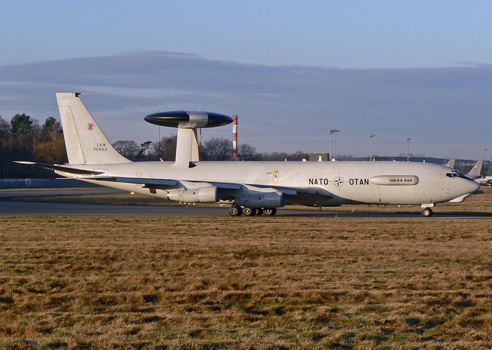 Boeing E-3A Sentry AWACS ; NATO ; LX-N90453