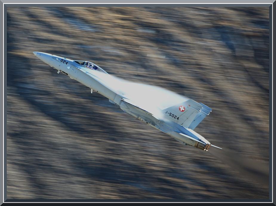 Boeing F/A-18 Hornet ~ AXALP 2010
