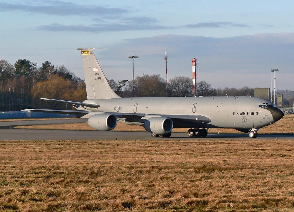 Boeing KC-135R ; USAF ; 62-3572