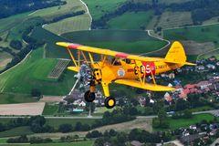Boeing Stearman air2air