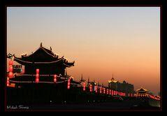 Bömmel over Xi'an - at night