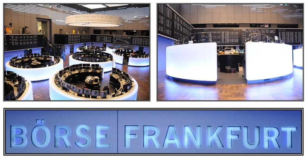 b rse wertpapierhandelsb rse frankfurt blick aufs und vom parkett foto bild deutschland. Black Bedroom Furniture Sets. Home Design Ideas