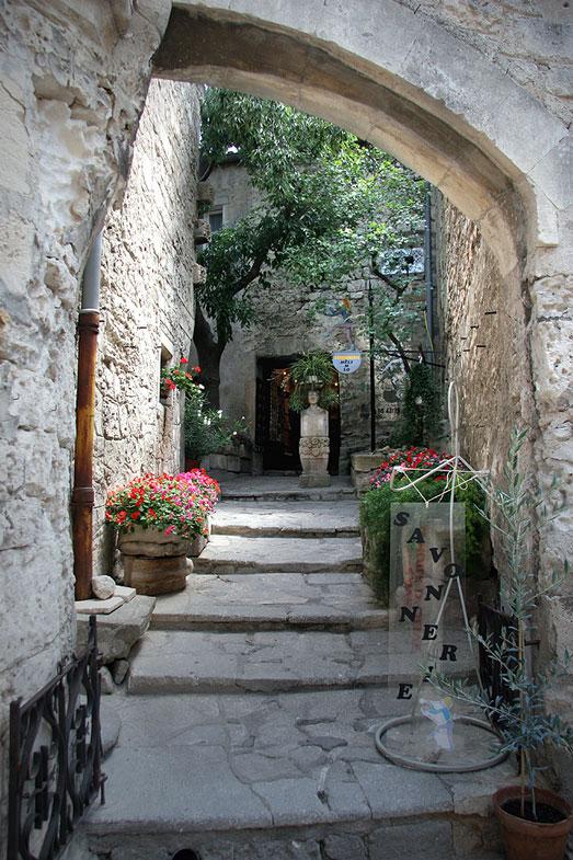 Bogen in Les Baux de Provence