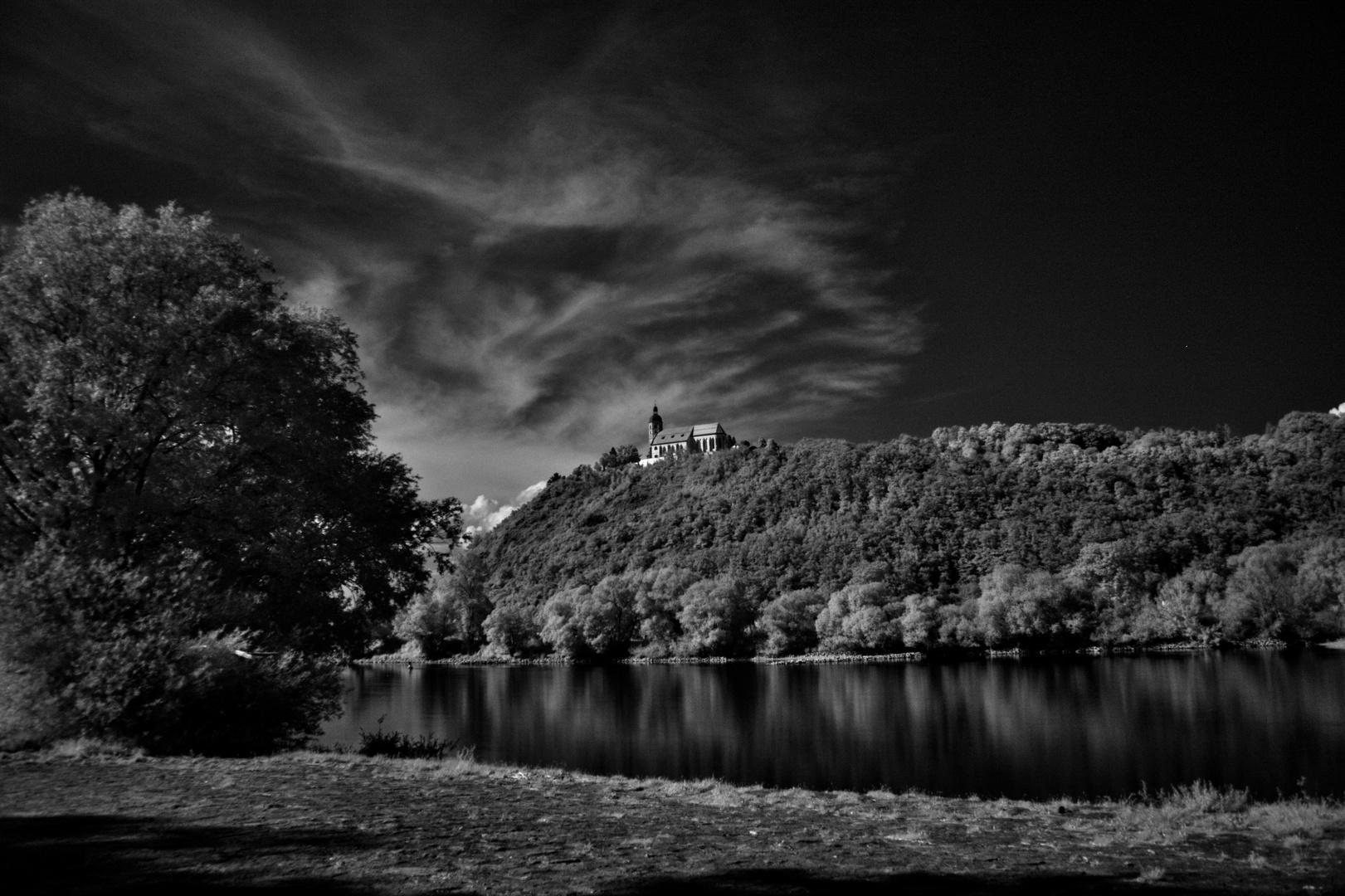 Bogenberg IR-Foto