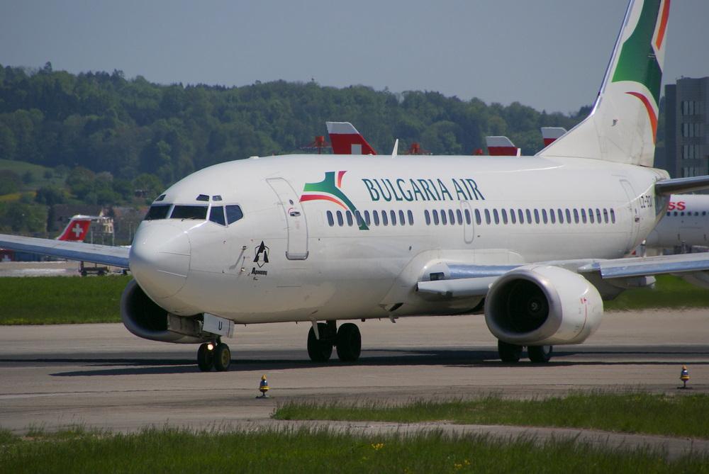 Boing 737-300 der Bulgaria Air