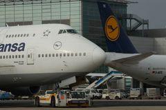 Boing 747-400 Dresden