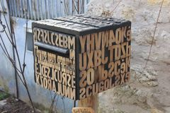 ...Boite aux lettres du menuisier de notre village (45)..