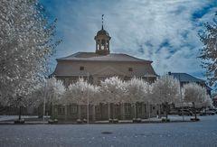 Boizenburg/Elbe Marktplatz Infrarot