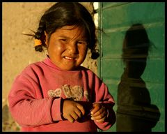 Bolivianische Kinderaugen...