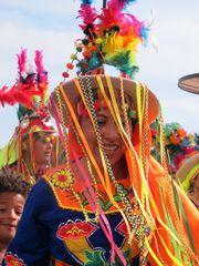 bolivianische Tänzerin