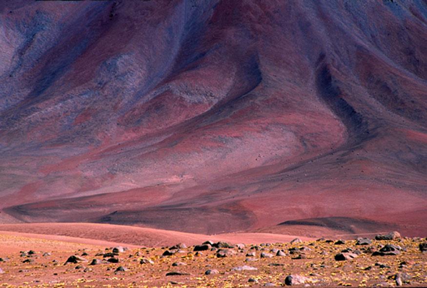 Bolivien - Vulkan Licancabur.