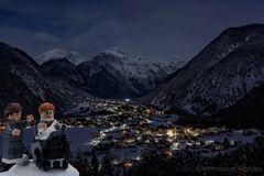 BOND DREH in Tirol