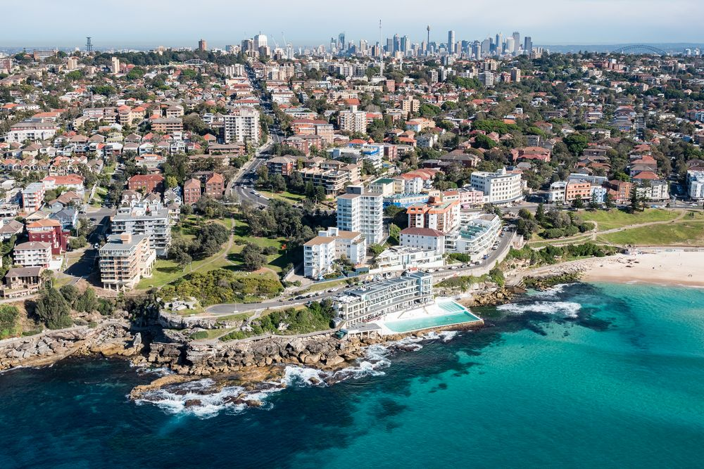 Bondi Beach and Icebergs Club