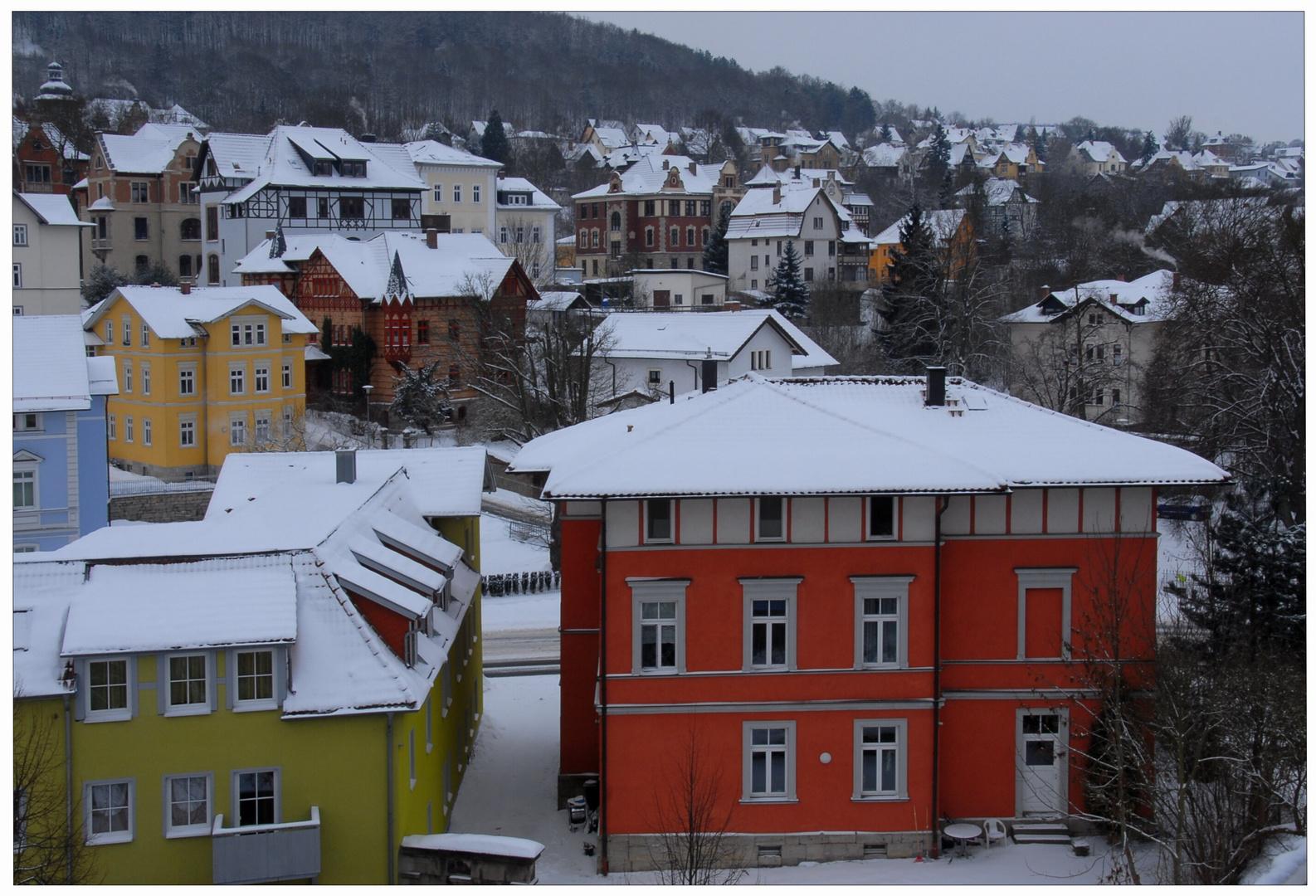 Bonitas casas, recién renovadas (Schöne, gerade renovierte Häuser)