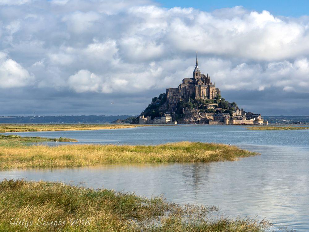 Bonjour  Mont Saint Michel