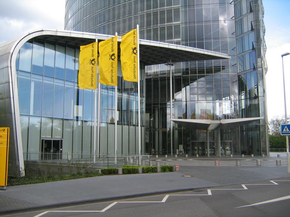 Bonn | Post-Tower-Eingang