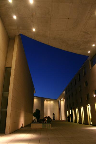 Bonner Kunstmuseum @night