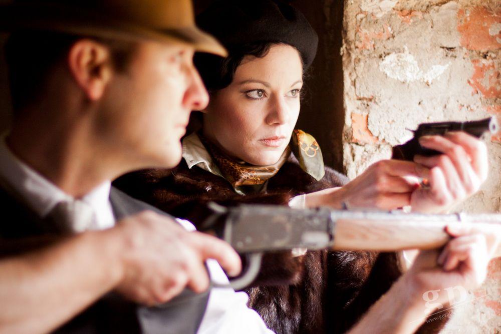 Bonnie & Clyde: Verteidigung