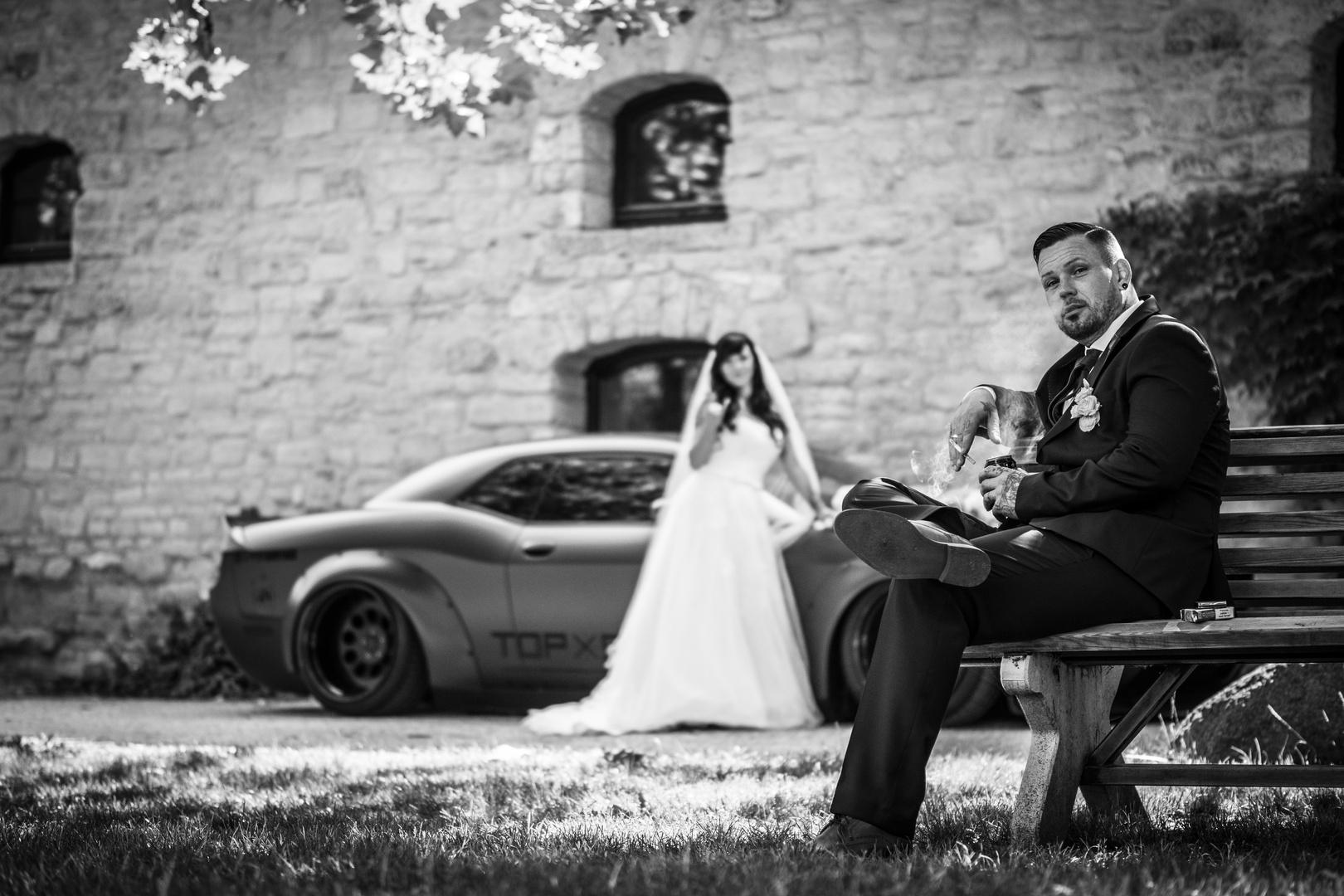 Ungewöhnlich Bonnie Und Clyde Thema Hochzeit Zeitgenössisch ...