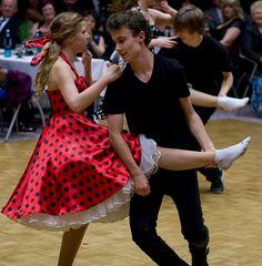 Boogie-Woogie Formation der Tanzschule Streng in Fürth (1)