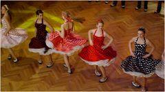 Boogie Woogie-Show der Tanzschule Streng in Fürth