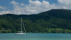Boot am Attersee