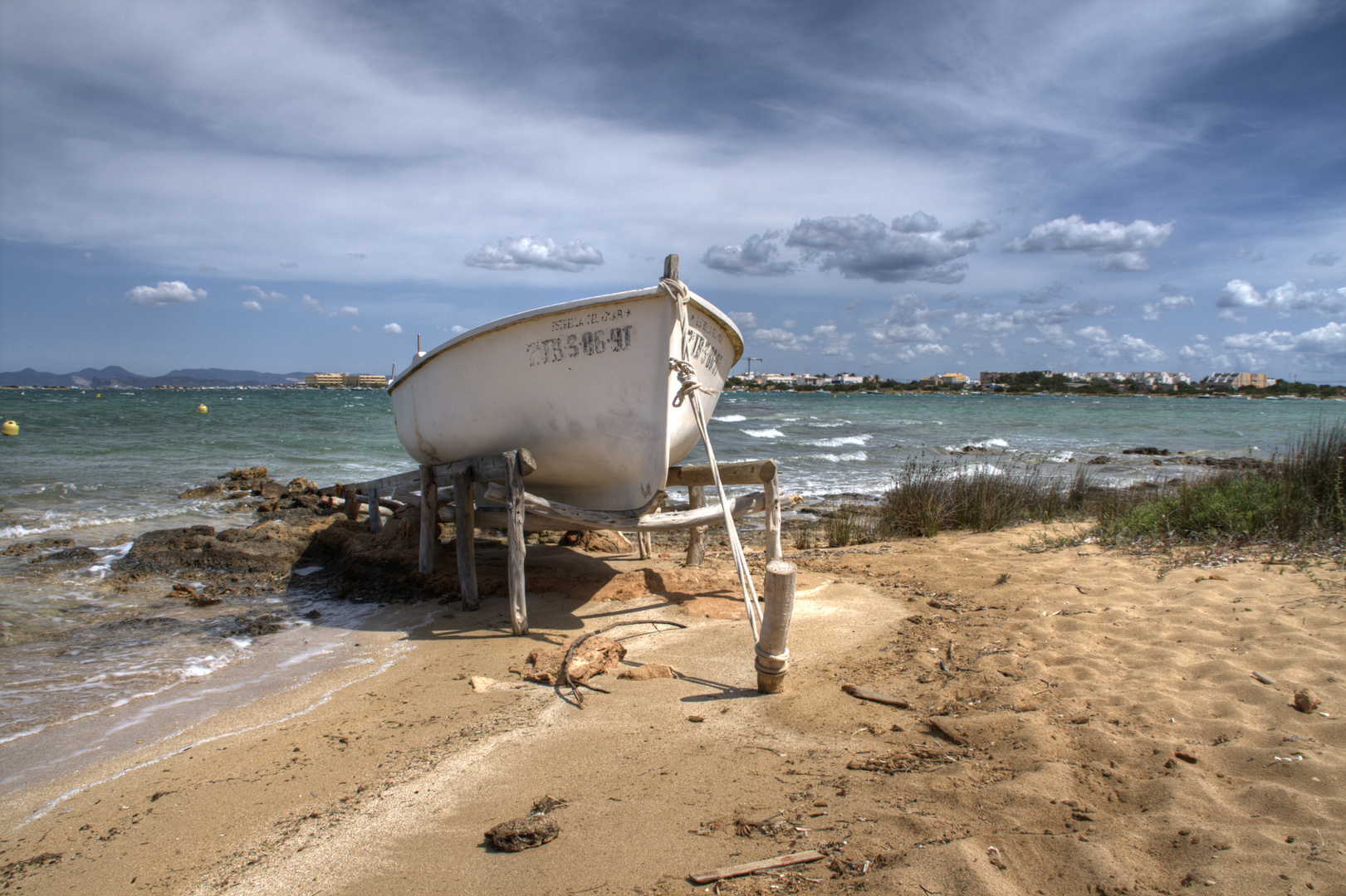Boot am Estany des Peix (HDR)