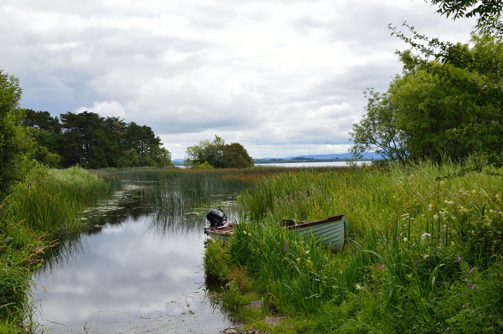 Boot am Lough Derg