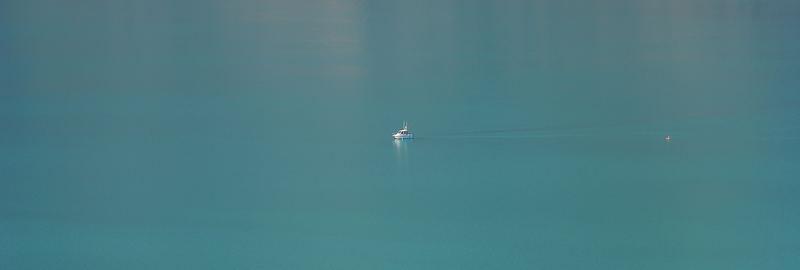 Boot auf Brienzer See