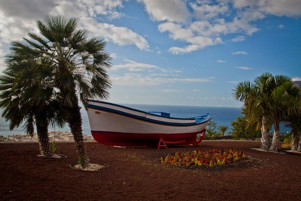Boot auf dem Trockenen