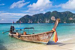 Boot auf Koh Phi Phi