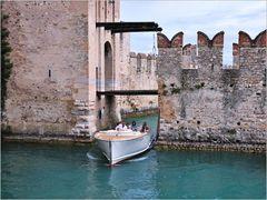 Boot beim Castello