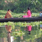 BOOT FUENF - REISETIPPS Kerala Rundreise - Reload Fuenf in einem Boot -