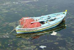 Boot im Hafen von Mahdia