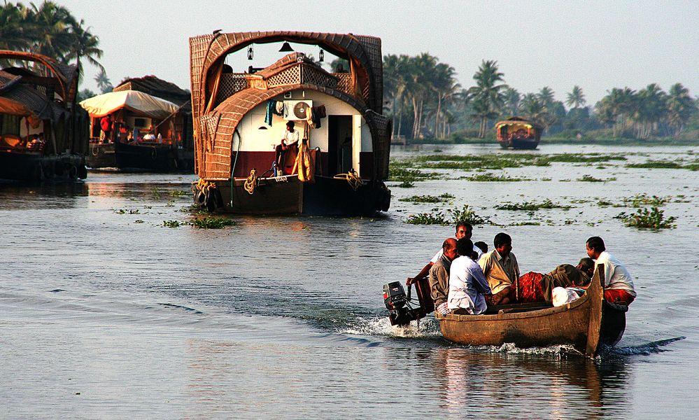 Boot Indien