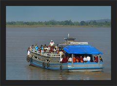 Boot nach Bilu Kyun Island