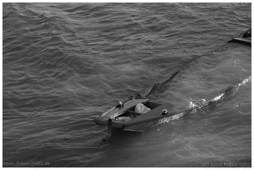 Boot unter
