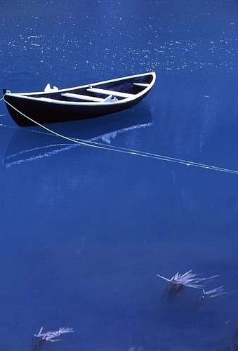 Boote 4 - auf einem von Gletscherwasser gespeisten norwegischen See