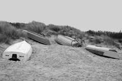 Boote am Strand SW