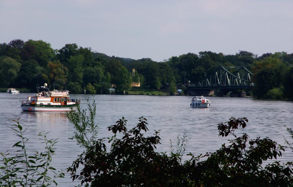 Boote auf dem Jungfernsee
