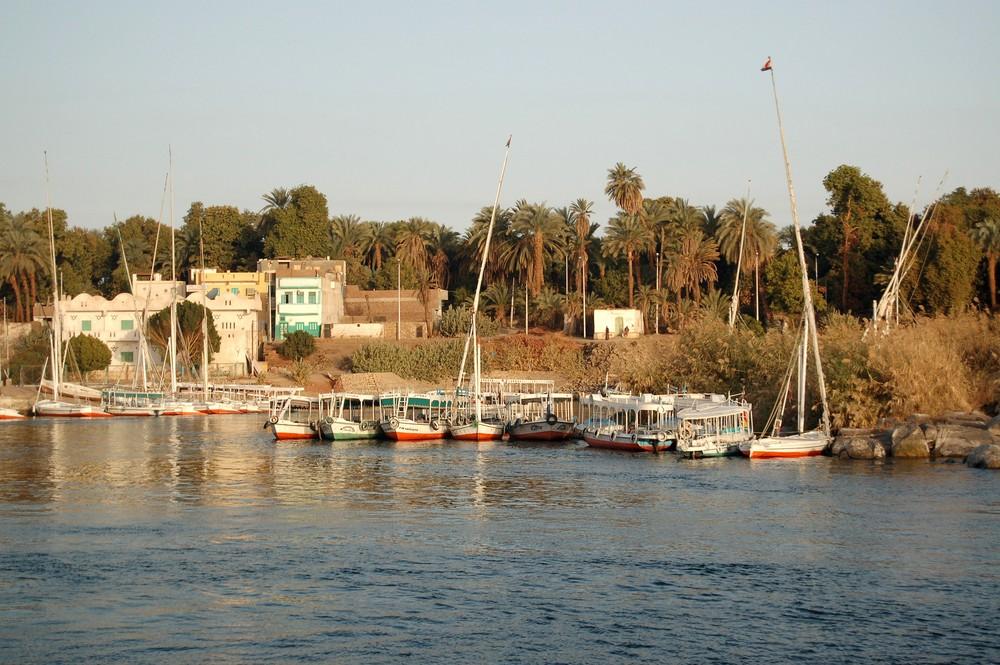Boote auf dem Nil 2