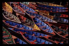 Boote auf dem Phewa See