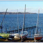 Boote im Winterlager ...