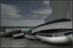 Boote in Arrieta