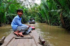 Bootsausflug im Mekong Delta